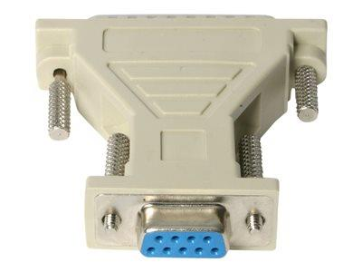 StarTech.com DB9 to DB25 Serial Cable Adapter - F/M