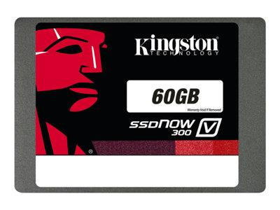 "Kingston 60GB SSDNow V300 SATA3 2.5"" 7MM solid state drive"