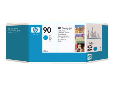 HP 90 400-ml Cyan Ink Cartridge
