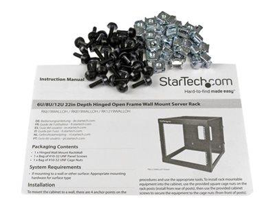 "StarTech.com 6U 22"" Wall Mount Server Rack"