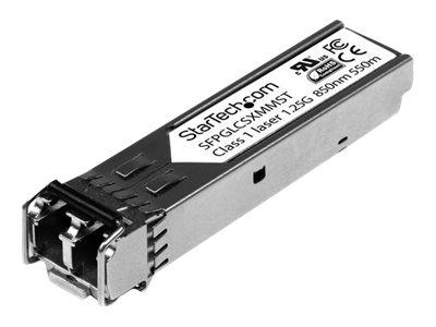 StarTech.com Cisco Compatible Gigabit Fiber SFP Transceiver Module MM LC – 550m (Mini-GBIC)