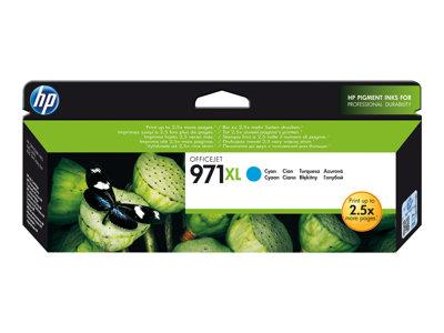 HP 971 XL High Yield Cyan Original Ink Cartridge