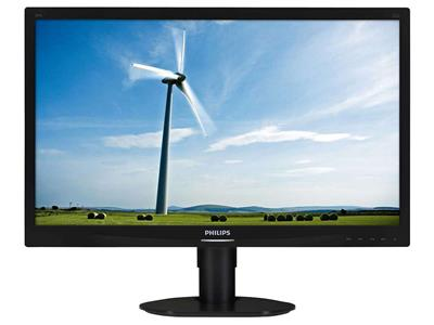 "Philips 24"" Brilliance LCD Monitor S-Line Full HD SmartImage Black"