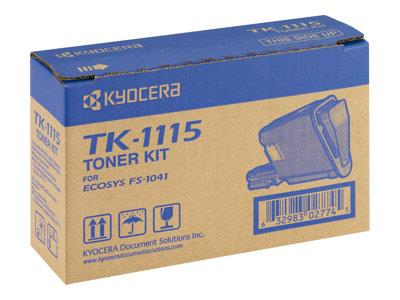 Kyocera TK-1115 TONER FOR FS-1041/1220/1320 1.6K
