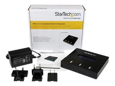StarTech.com 1:2 Standalone USB 2.0 Flash Drive Duplicator and Eraser