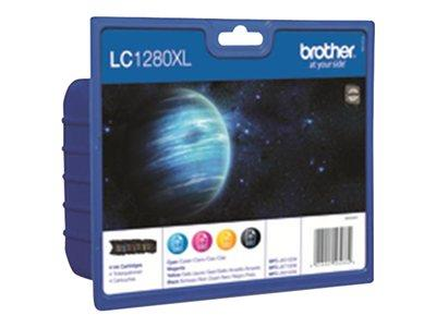 Brother LC1280 Inkjet Cartridge Value Pack