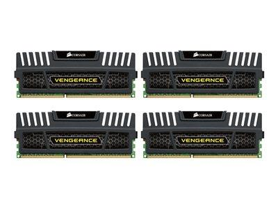 Corsair 32GB (4 x 8GB) Vengeance DDR3 1600MHz DIMM 240-pin CL10