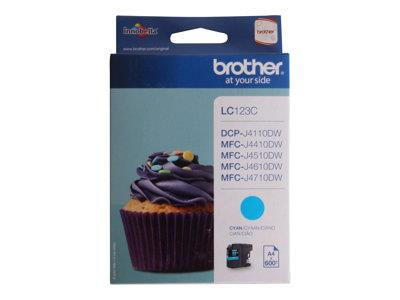 Brother LC123C Cyan Ink Cartridge