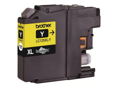 Brother LC125XLY Yellow Ink Cartridge