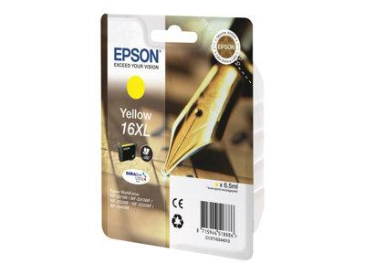 Epson 16 Series XL Ink Cartridge - Yellow - 450 Pages - Pen and Crossword