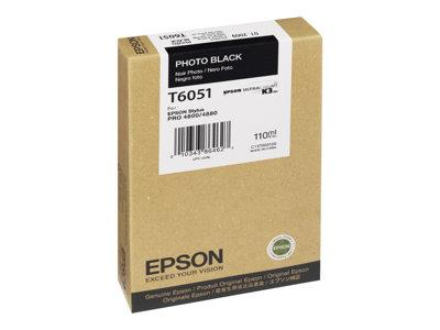 Epson Singlepack Photo Black T605100