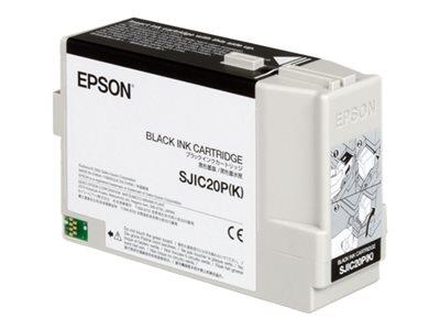 Epson SJIC20P(K) - Black ink cartridge