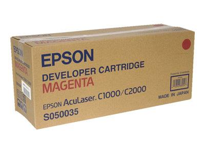 Epson AL-C1000/2000 Developer Cartridge Magenta 6k