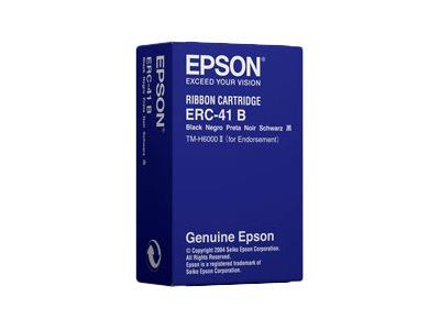 Epson ERC41B Cartridge for TM-H6000/II Endorse Print Black