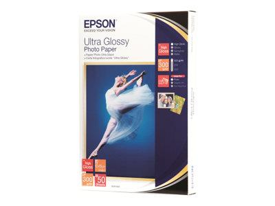 Epson Ultra Glossy Photo Paper 10x15 50 Sheets