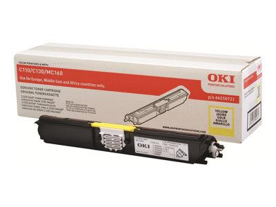 OKI C110/C130 Yellow High Capacity Toner 2.5K