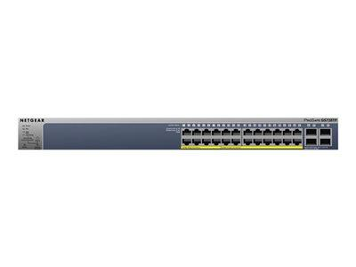 NetGear ProSAFE 24-port 1000base-T Gigabit PoE+ Smart Switch with 4 SFP Ports
