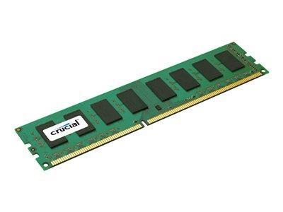 Crucial 2GB DDR3 1600 MT/s (PC3-12800) CL11 Unbuffered UDIMM 240pin