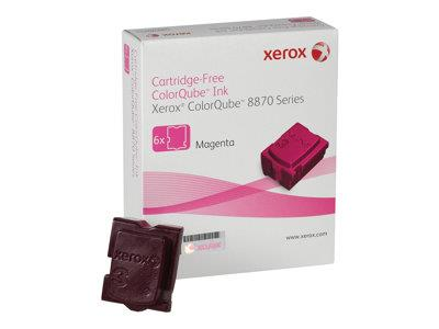Xerox 8870 Magenta Wax Stick 6 Pack