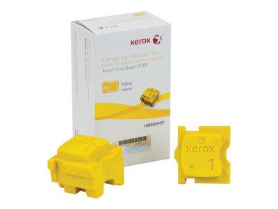 Xerox 8700 Yellow Ink Sticks (2)