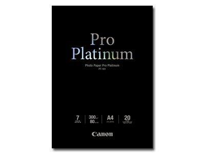 Canon Photo Paper Pro Platinum - Photo paper - A4 (210 x 297 mm) - 300 g/m2 - 20 sheets