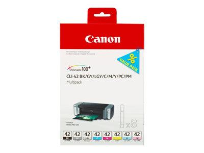 Canon CLI-42 Multipack (8 Colour) Ink Tank