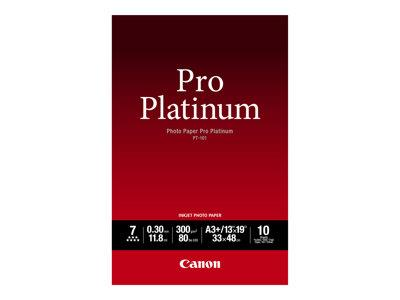 Canon Platinum Photo Paper A3+ 10 Sheets