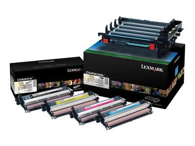 Lexmark C540 Black And Colour Imaging Kit