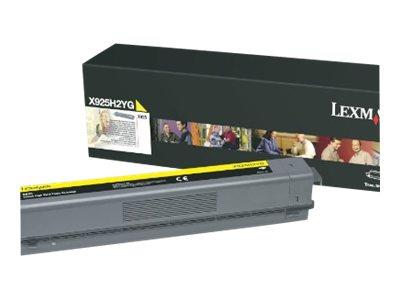 Lexmark X925 Yellow High Yield Toner 7.5K