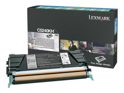Lexmark C524/534 8K Black High Yield Return Cartridge