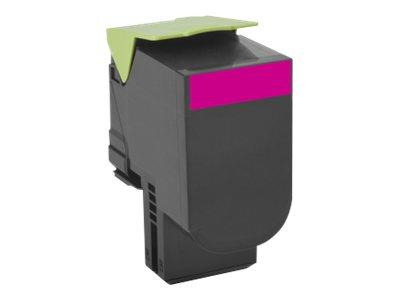 Lexmark 802SM Magenta Standard Return Program Toner 2K