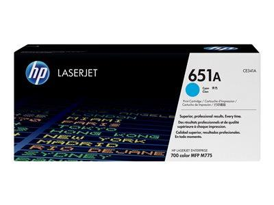 HP 651A Cyan Original LaserJet Toner Cartridge