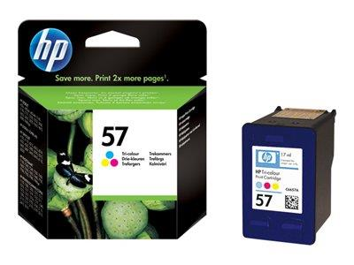 HP 57 Tri-colour Original Ink Cartridge