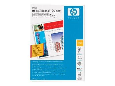 HP Professional Matt Inkjet Paper-200 sheet/A4/210 x 297 mm