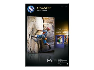 HP Advanced Glossy Photo Paper-60 sheet/10 x 15 cm borderless