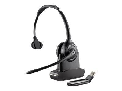 Plantronics Savi W410A-M Monaural Wireless USB Headset - Optimised for MS Lync