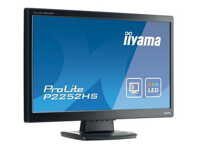 "iiyama ProLite P2252HS-B1 22"" 1920x1080 5ms HDMI DVI-D LED Black Monitor with Speakers"