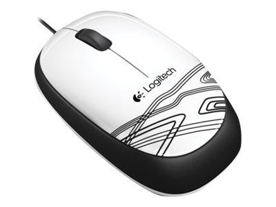 Logitech M105 Mouse White