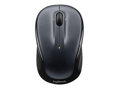 Logitech M325 Wireless Mouse Dark Silver