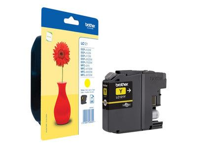 Brother LC121 Standard Capacity Yellow Ink