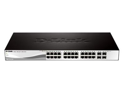 D-Link 24-Port Gigabit Smart+ Switch including 4 SFP ports