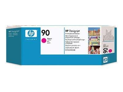 HP 90 Magenta Printhead and Printhead Cleaner