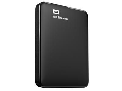 "WD 2TB Elements USB 3.0 2.5"" Portable Hard Drive"
