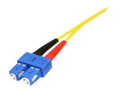 StarTech.com 7m Single Mode Duplex Fiber Patch Cable LC-SC