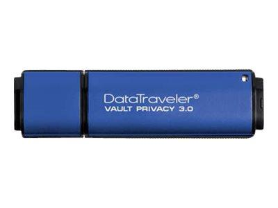 Kingston Data Traveller 8GB Vault Privacy USB 3.0 Flash Drive