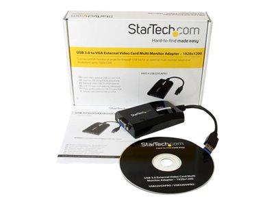 StarTech.com USB 3.0 to VGA External Video Card Multi Monitor Adapter for Mac and PC