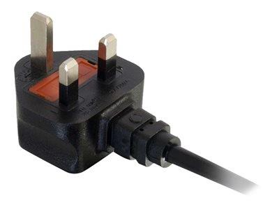C2G 2m UK 17AWG 250V 16 Amp Power Cord BS 1363 to IEC 60320 C19