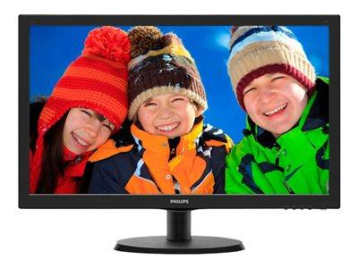 "Philips 22"" LED 1920 x 1080 Full HD Monitor - Black"