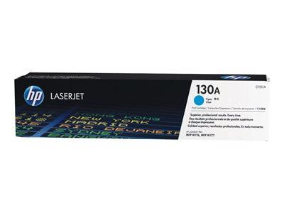HP 130A Cyan LaserJet Toner Cartridge