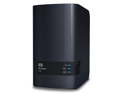 WD 8TB (2 x 4TB WD Red) My Cloud EX2 Personal Cloud Storage NAS